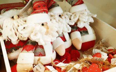 Reabrimos la tienda, con la decoración de Navidad