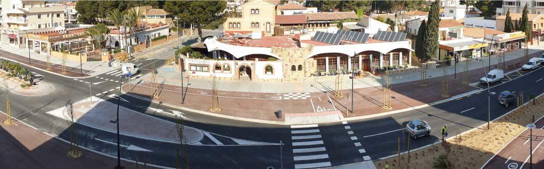 Inauguramos la renovada Avenida Barcelona