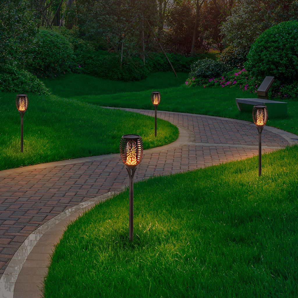 iluminación sostenible, iluminación de exterior