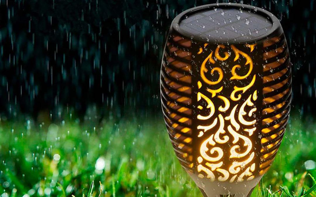 iluminación exterior y sostenibilidad.